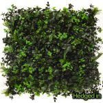 50cm x 50cm Ivy Bush Artificial Hedge Panel