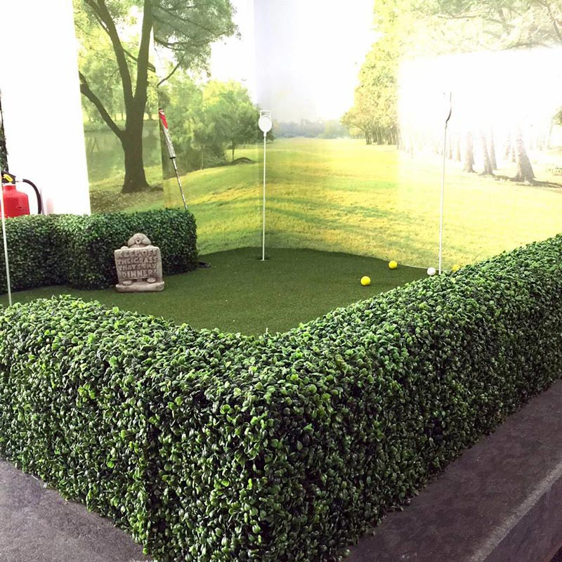 50cm Deluxe Boxwood Artificial Hedge Panel