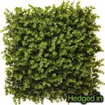 50cm x 50cm Foliage Artificial Hedge Panel by Hedged In™