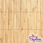4m x 1m Thick Natural Bamboo Style Reed Screening by Papillon™