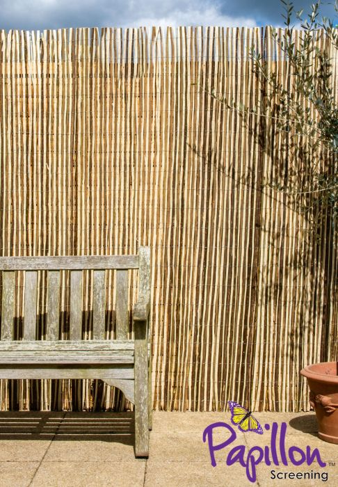 Split Willow Natural Fencing Screening 4.0m x 1.5m (13ft 1in x 5ft) - By Papillon™