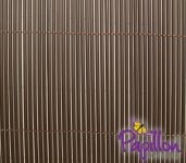 4m x 2m Artificial Hollow Cane Screening in Brown by Papillon™