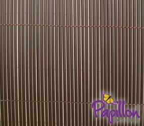 4m x 1.8m Artificial Hollow Cane Screening in Brown by Papillon™