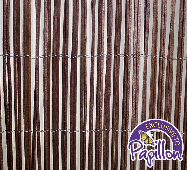 4m x 1m Poplar Wood Slat Screening by Papillon™