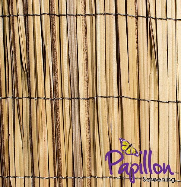 4m x 1m Longlife Premium Reed Cane Artificial Plastic Screening by Papillon™