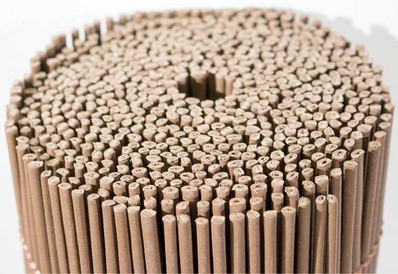 4m x 2m Premium Round Split Willow Artificial Screening by Papillon™