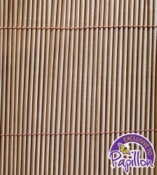 4m x 1.8m Premium Round Split Willow Artificial Screening by Papillon™