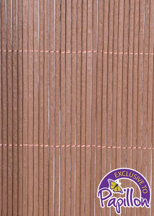 4m x 2m Premium Oval Split Willow Artificial Screening by Papillon™