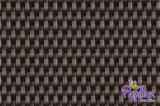 Dark Brown Rattan Weave Artificial Fencing Screening1.0m x 2.0m (3ft 3in x 6ft 7in ) - By Papillon™
