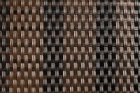 Dark Brown and Black Rattan Weave Artificial Fencing Screening 2.0m x 1.0m (6ft 7in x 3ft 3in) - By Papillon™