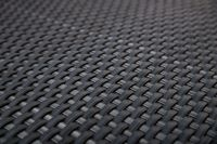 1m x 1m Grey Rattan Weave Artificial Screening by Papillon™