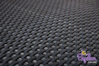 Grey Rattan Weave Artificial Fencing Screening 1.0m x 2.0m (3ft 3in x 6ft 7in ) - By Papillon™