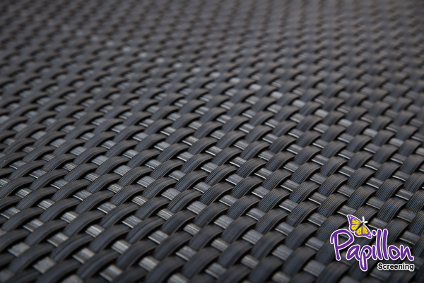 Grey Rattan Weave Artificial Fencing Screening 1.0m x 1.0m (3ft 3in x 3ft 3in) - By Papillon™