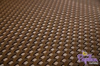 Light Brown Rattan Weave Artificial Fencing Screening 1.0m x 1.0m (3ft 3in x 3ft 3in) - By Papillon™