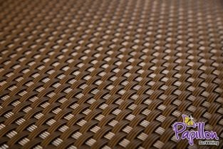 Light Brown Rattan Weave Artificial Fencing Screening 1.0m x 2.0m (3ft 3in x 6ft 7in ) - By Papillon™
