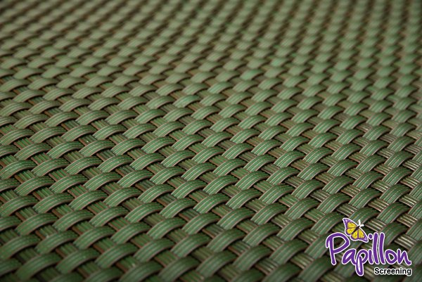 Green Rattan Weave Artificial Fencing Screening 1.0m x 2.0m (3ft 3in x 6ft 7in ) - By Papillon™