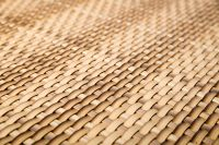 2m x 1m Two Tone Sand Rattan Weave Artificial Screening by Papillon™
