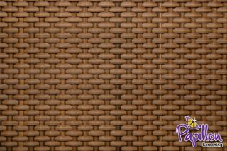 Honey Rattan Weave Artificial Fencing Screening1.0m x 2.0m (3ft 3in x 6ft 7in ) - By Papillon™