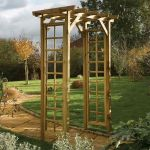Square Top Garden Arch
