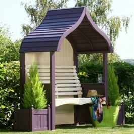 Orchard Arbour in Lavender and Cream