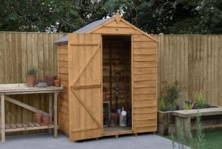Overlap Dip Treated Apex Shed (No Window) | 5x3ft