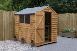 Overlap Dip Treated Apex Shed | 7x5ft