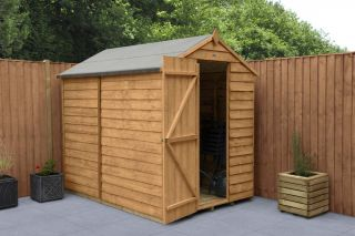 Overlap Dip Treated Apex Shed (No Window) | 7x5ft