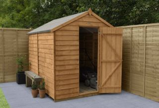 Overlap Dip Treated Apex Shed (No Window) | 8x6ft