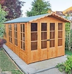 7x13ft | Westminster Summerhouse | Double Doors