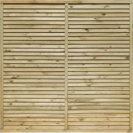 Cheshire Contemporary Fence Panel 1.83m x 1.2m (6ft x 4ft) - Set of 3 By Rowlinson®