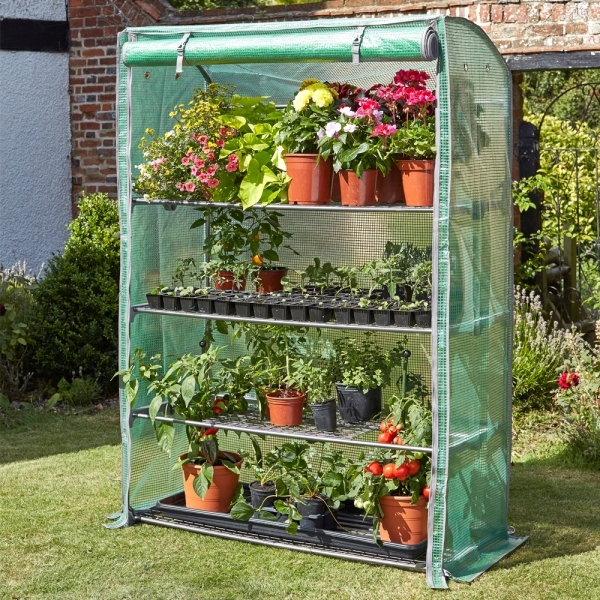 Smart Garden Gro-Zone Max Shelved Growhouse