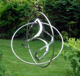 The Gyroscope Wind Sculpture
