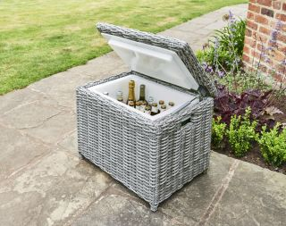 Lynford Rattan Cool Box