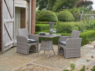 Morston 4 Seater Adaptable Rattan Dining Set