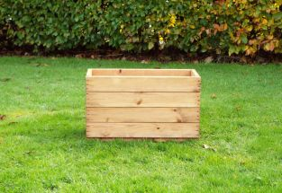 Charles Taylor 53cm Small Trough Planter FSC Redwood
