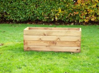 Charles Taylor 78cm Medium Trough Planter FSC Redwood