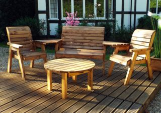 Charles Taylor Four Seater Multi Set by Charles Taylor - FSC Redwood