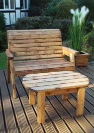 Charles Taylor Deluxe Bench Set - FSC Redwood