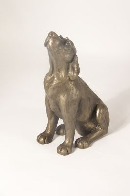 Lucy Puppy Sculpture