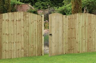 6ft Heavy Duty Dome Top Tongue & Groove Gate