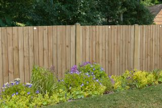 6ft x 4ft Fence Panel Pack of 3 - Pressure Treated Featheredge