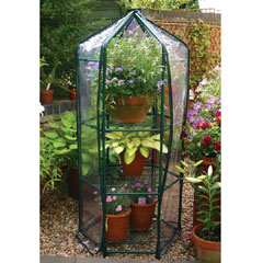 1ft 2in x 1ft 2in Hexagonal Greenhouse