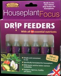 Houseplant Focus Drip Feeders By Growth Technology