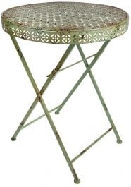 Outdoor Industrial Heritage Round Table - 58cm