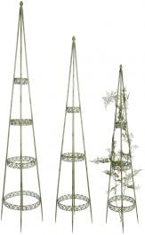 168/143/122cm Industrial Heritage Obelisks (Set of 3)