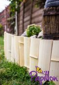 5m Bamboo Slat Edging Roll - H20cm - by Papillon™