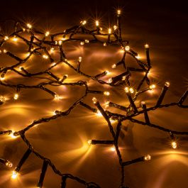 Extra Long 1000 LED Warm White Firefly Twister Fairy Lights