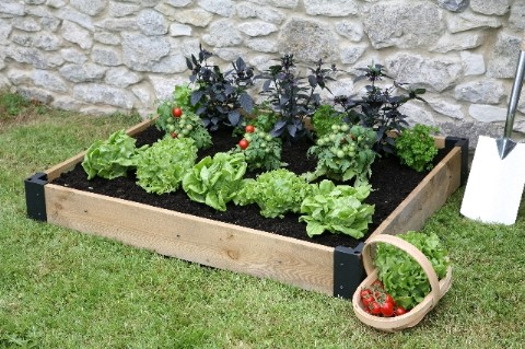 180 Litres - Haxnicks Raised Bed Base - 1.2m x 1m (H15cm)