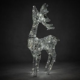 1m Light Up Reindeer Christmas Decoration