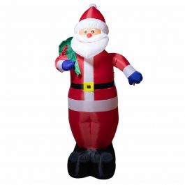 Huge 3m Inflatable Santa with Presents Christmas Decoration